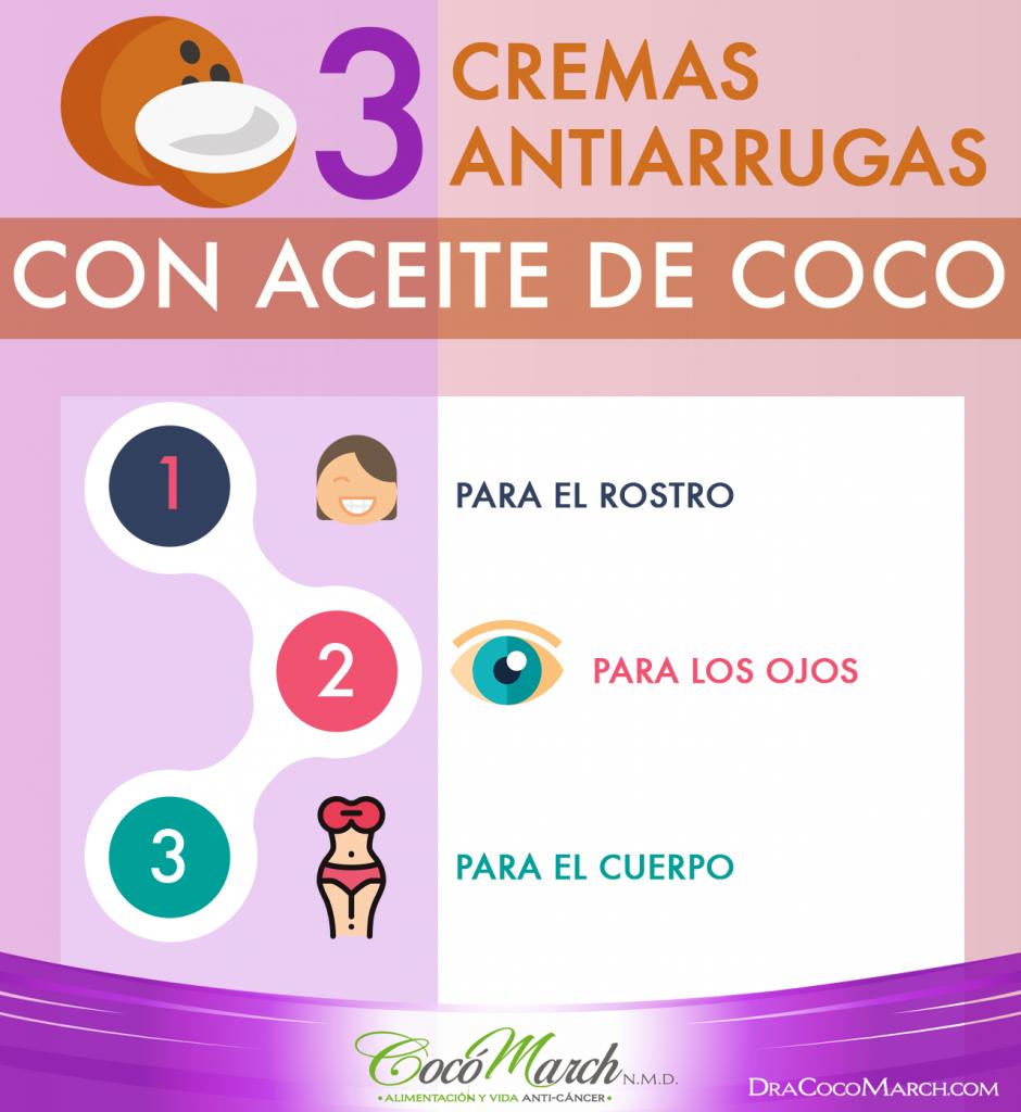 cremas-antiarrugas-con-aceite-de-coco