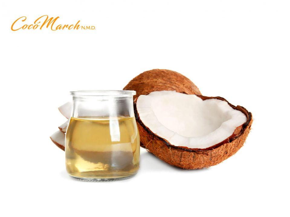 Aceite de coco para bajar de peso funcionarios