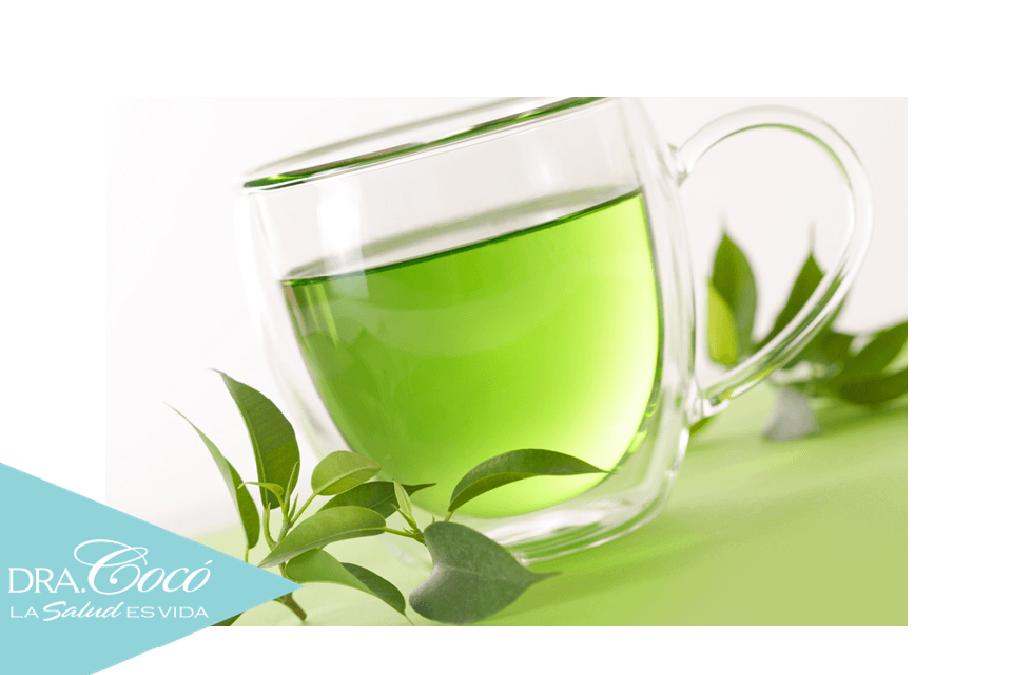 Como tomar el te verde para quemar grasa abdominal