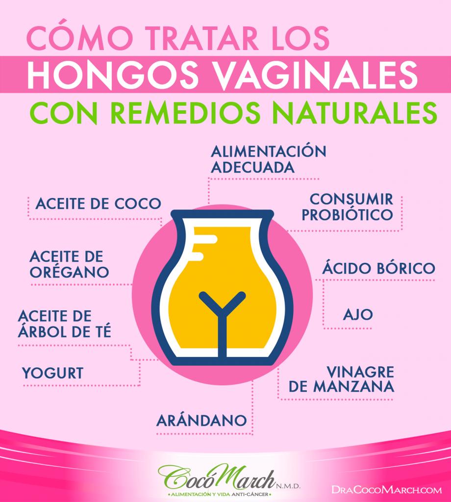 remedios caseros para los hongos genitales