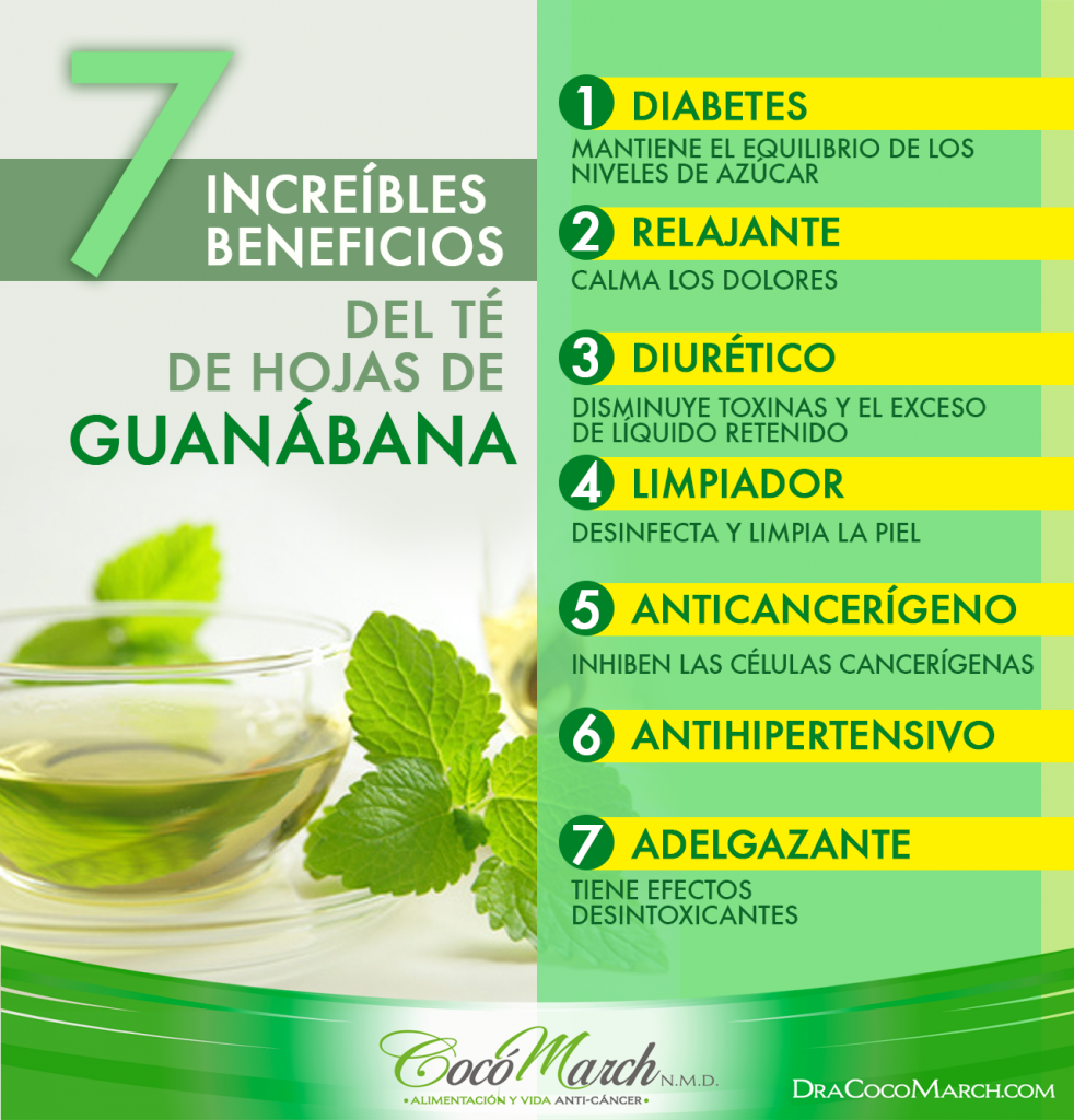 beneficios-del-té-de-hojas-de-guanábana