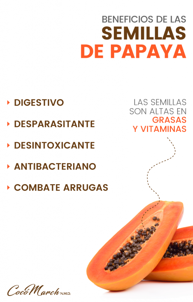 Beneficios de consumir la semilla de papaya