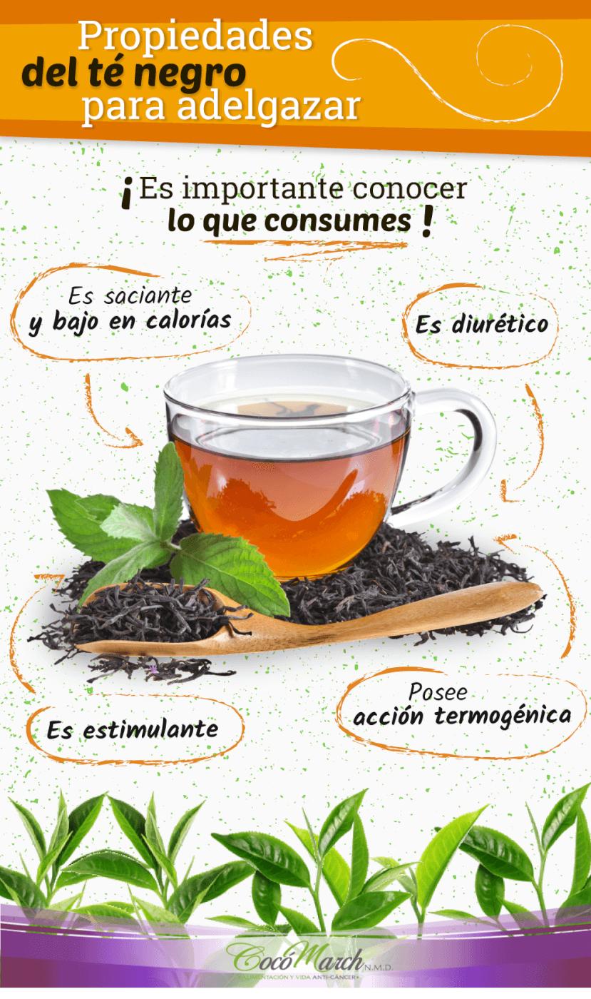 Cómo Tomar El Té Negro Para Adelgazar   Coco March