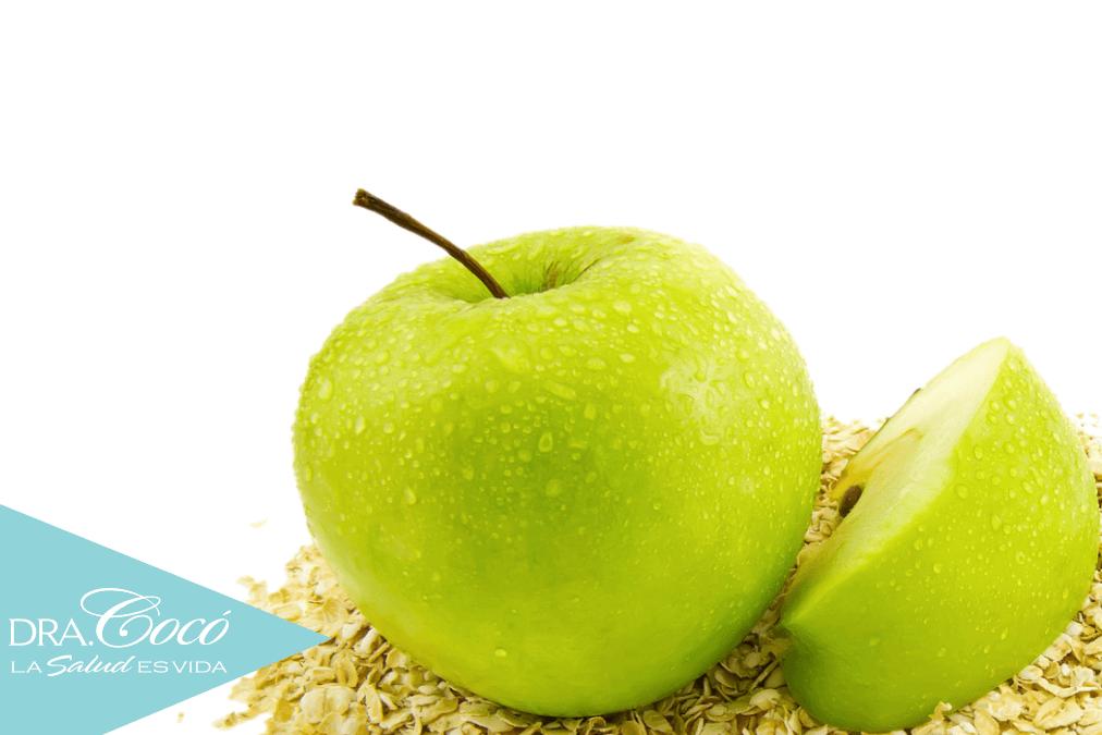 manzana avena para bajar de peso