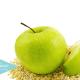 batido-de-avena-y-manzana-verde-para-adelgazar