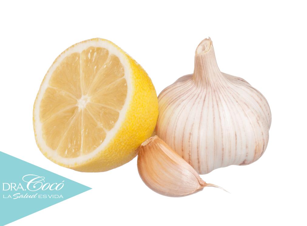 El ajo con limon sirve para adelgazar