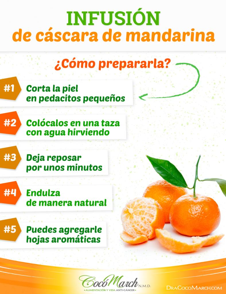 infusión-de-cáscara-de-mandarina