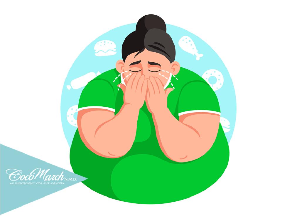 vinculan-obesidad-con-la-depresión