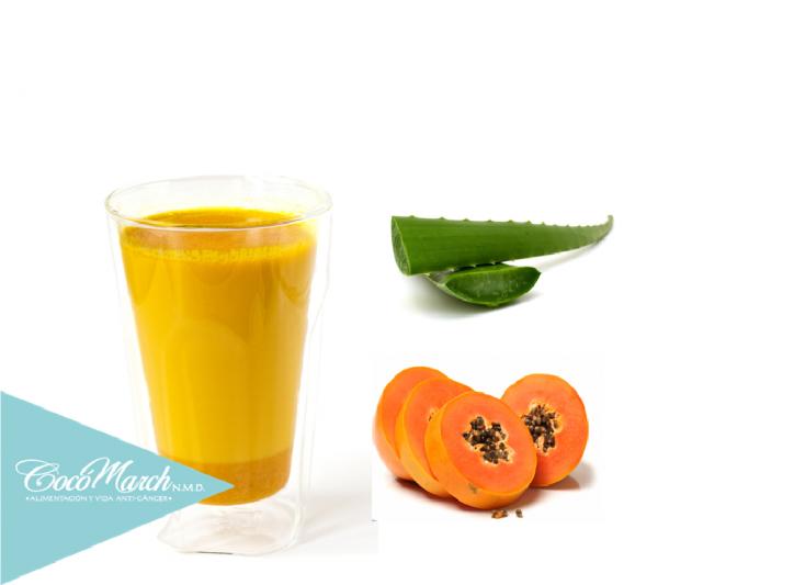 cómo-se-prepara-el-aloe-vera-con-papaya