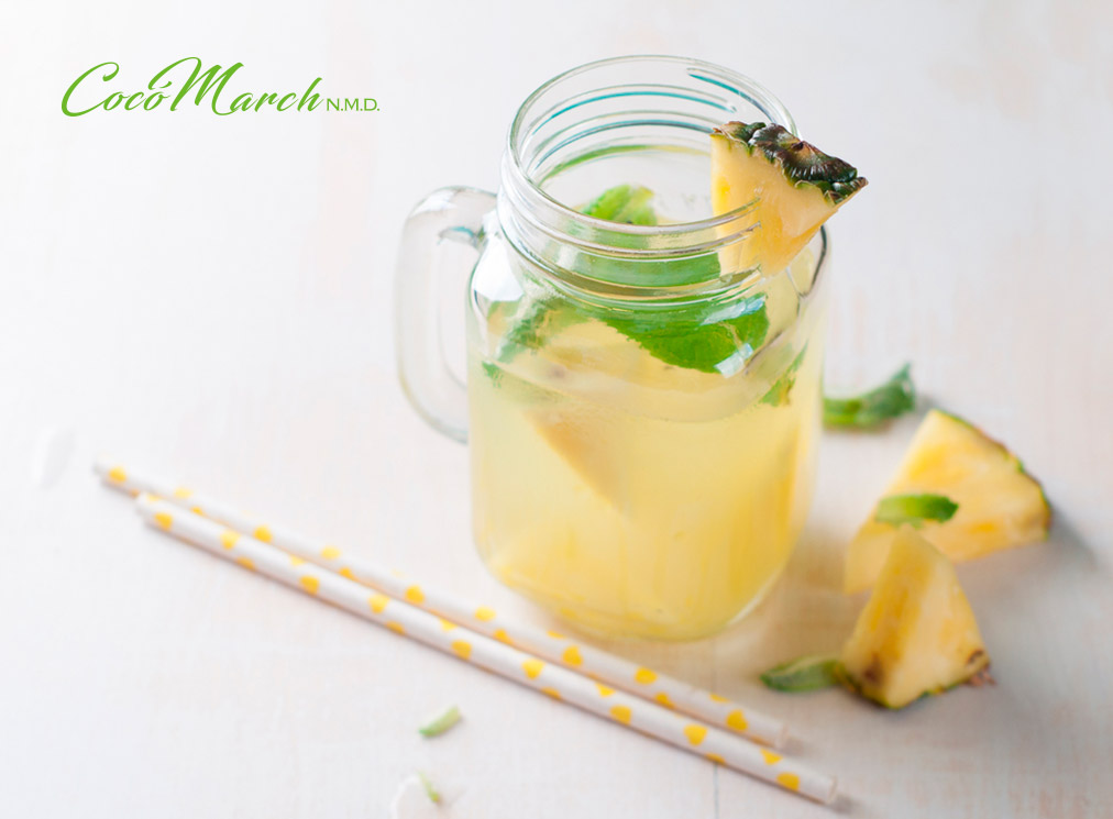 recetas-con-agua-de-piña