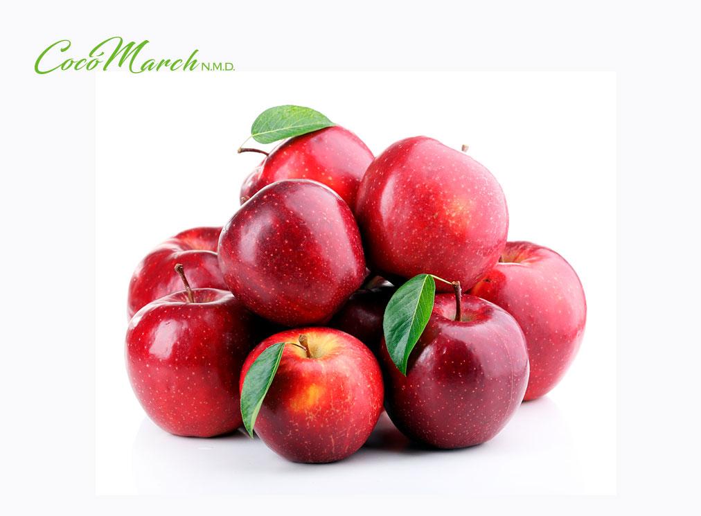 inflamación-del-estómago-manzana