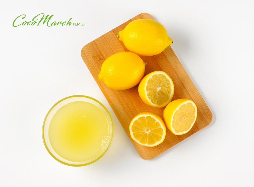 inflamación-de-encías-jugo-de-limón