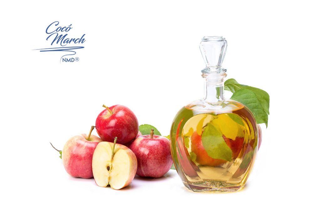 De tomarlo como vinagre manzana
